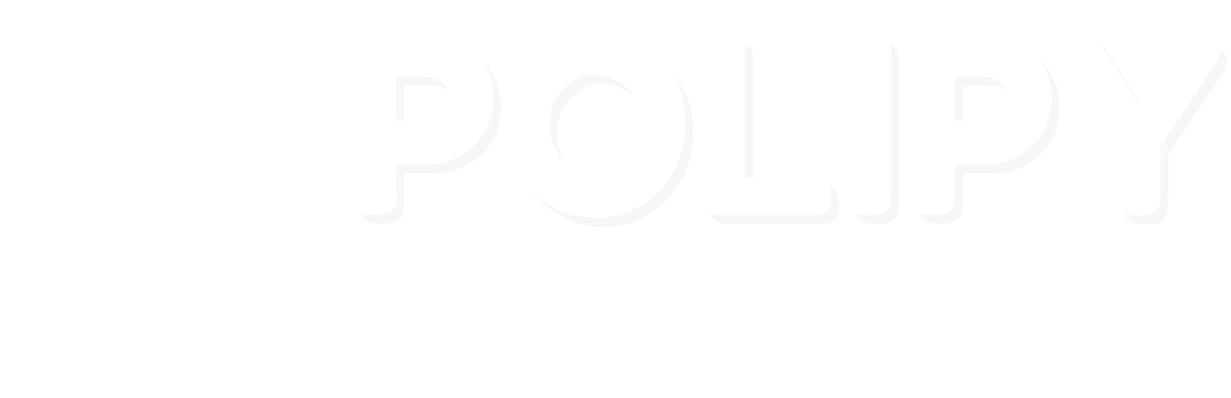 Polipy - Logo bianco